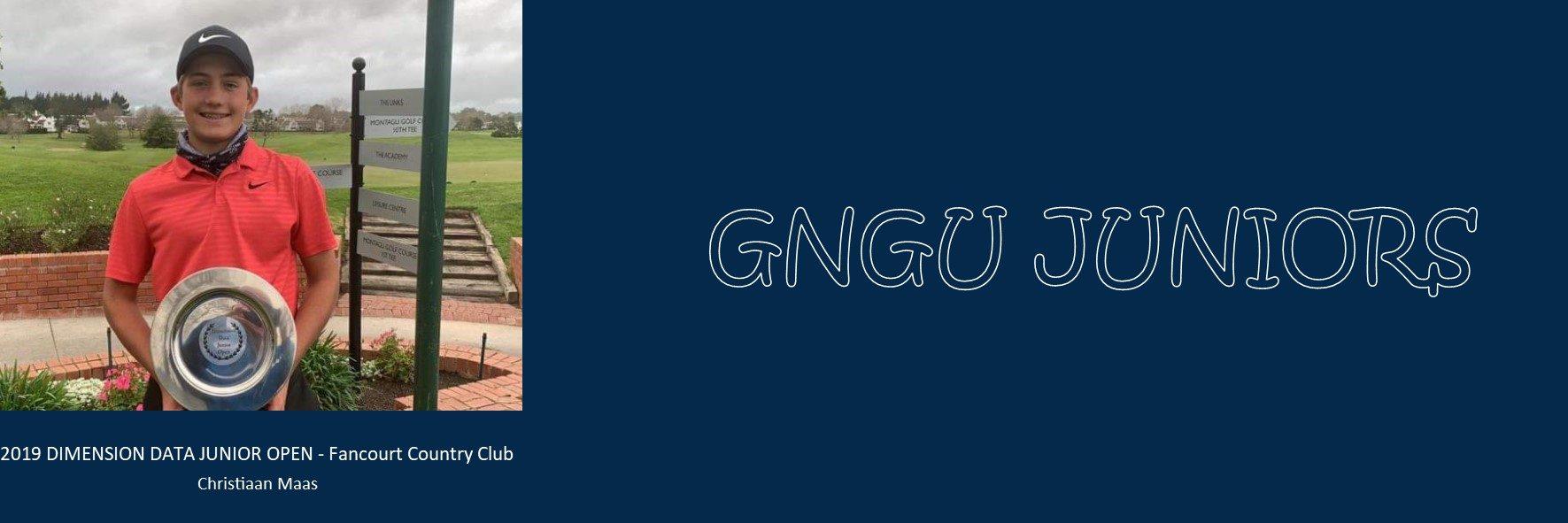 Gauteng North Golf Union – Juniors